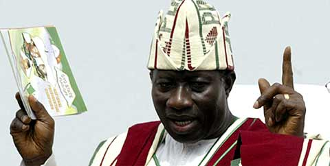President Jonathan - President of Nigeria