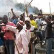 File photo: Protesters during the post-election riots in Kaduna