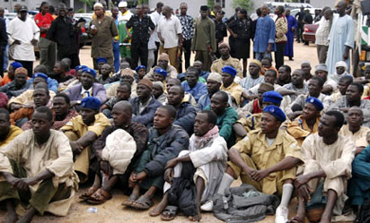 Suspected Boko Haram members