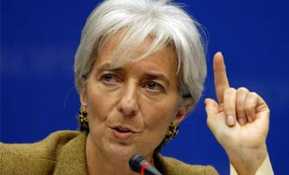 Christine Lagarde, IMF Boss