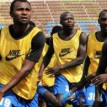 NO PAY, NO PLAY —Sunshine Star players  during one of their training sessions