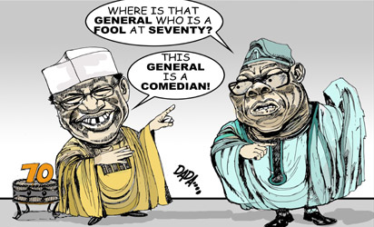 OBJ, IBB at  war