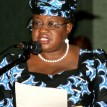 *Finance Minister, Okonjo Iweala