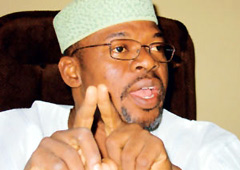 Former Governor of Ekiti State, Segun Oni