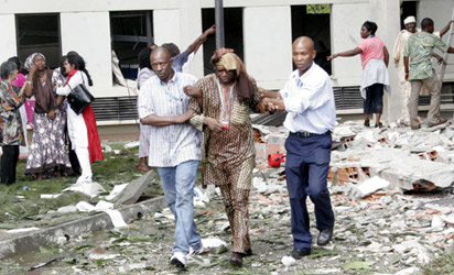 25 killed as suicide bomber blows up Abuja UN House