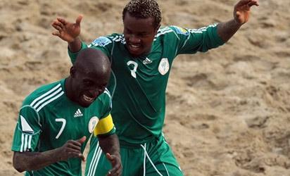 Nigeria edge out Venezuela in 2011 FIFA Beach Soccer World Cup