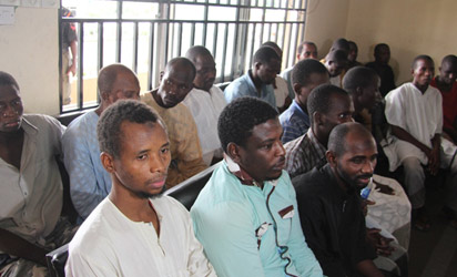 Judge threatens to discharge 24 suspected Boko Haram members