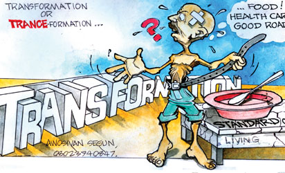 cartoon--Transformation