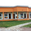 *The front view of the new-model look of All Saints Primary School