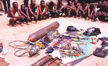 Police arrest arms manufacturer, 620 others in Benue 1