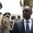 Macky Sall, who was sworn in as Senegal's president today, is a stolid 50-year-old geologist, once tipped as former president Abdoulaye Wade's designated heir, who defeated his former mentor at the polls. AFP PHOTO