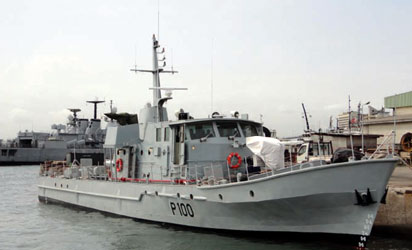 Jonathan commissions first locally-made warship tomorrow