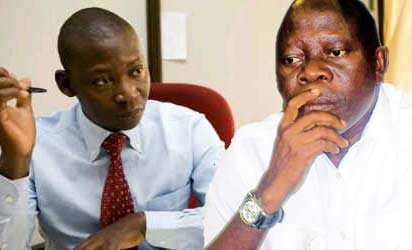 Late Olaitan Oyerinde and Adams Oshiomhole