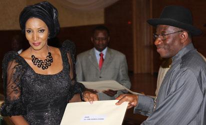 Defend Nigerians in Diaspora, Jonathan urges new ambassadors