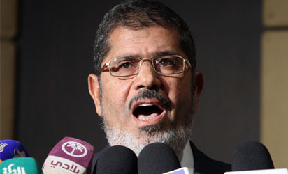 Egyptian President, Mohamed Morsi