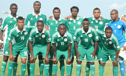 File photo : Super Eagles