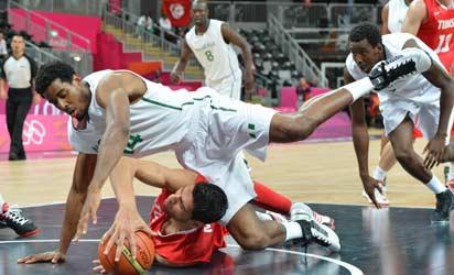 Nigeria Edge Tunisia In Men's Basketball