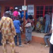 Voting in progress at Oza Primary School Igbesawnma Benin city. Photo: Citizen Wolbum