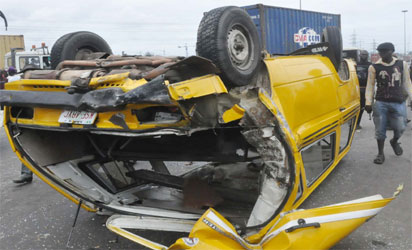 Family Of 3 Narrowly Escape Death As Tanker Loses Control Of Brake