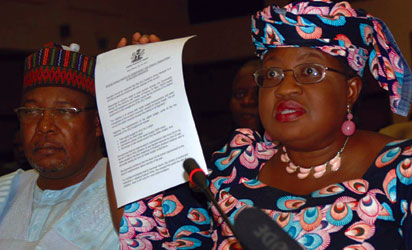Reps Threaten To Order Okonjo-Iweala's Arrest