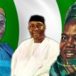 Chief Obafemi Awolowo, Dr. Nnamdi Azikiwe and Alhaji Ahmadu Bello