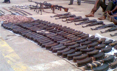 Black Sunday In Lagos: Military Weapons Robbers Used Under Probe