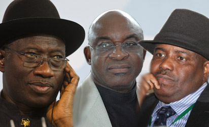 JONATHAN,  MARK and  TAMBUWAL