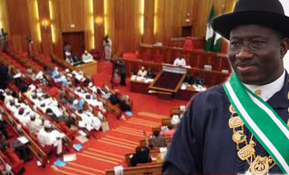 Senate Draws Battle Line, Threatens To Impeach Jonathan