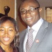 Victor Gotevbe  and Jennifer at a Youth Parley in Lagos