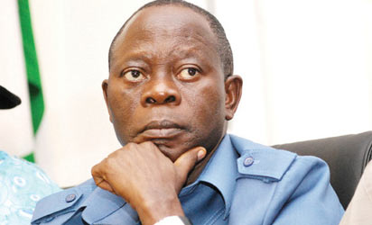 Oshiomhole...taking his time