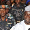 File Photo: JAJI BLAST - Governor Patrick Ibrahim Yakowa of Kaduna State with the Commandant of Command and Staff College, Jaji, AVM Ibrahim Abdullahi Kure when the governor visited the scene of the bomb blast at the military barrack church in Jaji. Photo: Olu Ajayi.