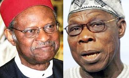 *Anyaoku and Obasanjo