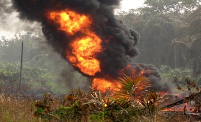 Fire Fighters Yet To Access Pipeline Explosion Site