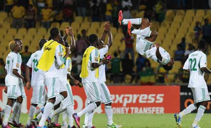AFCON 2013: Eagles Get $30,000 Each For Qualifying For Quarter Final