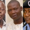 Gov Adams Oshiomhole, Late Olaitan Oyerinde and IGP, M .D Abubakar.