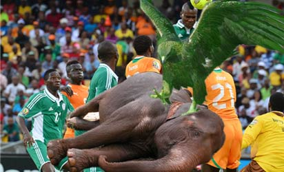 AFCON: Boastful Eboue eats his words, apologises to Nigeria