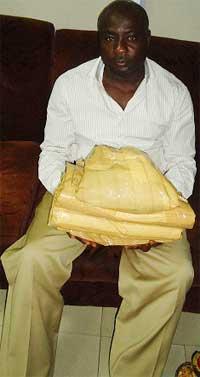 Ozoh Hycenth Chukwuemeka, the suspect