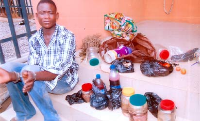 prophets arrested fresh human parts lagos