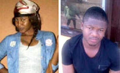 The late Olaide Bournes and her boyfriend, Abuchi Cyril
