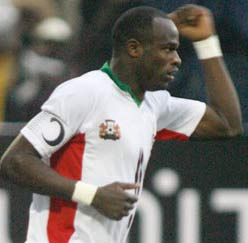 Oliech, Kenyan star