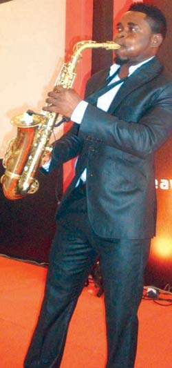 Peter Falade a.k.a Saxo Smooth