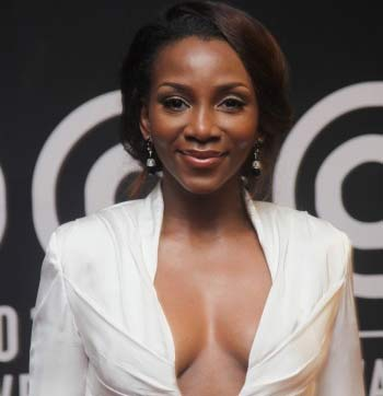 Genevieve at AMVCA ... is this going too far?