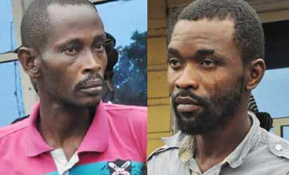 Pastor Ibikunle Suspects: Olarewaju John and Ibrahim Abdullahi (Informant)