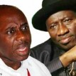Gov.  Amaechi and President Jonathan