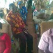 A congested coach in a Lagos to Kano bound train