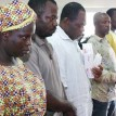 Maduabuchi Abuzu, 2nd  left and other suspects paraded by NAFDAC  last week.