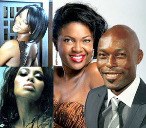 Genevieve, Manie Malone, Omoni Oboli and Jimmy