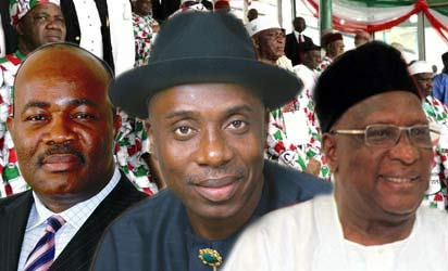 Akpabio Amaechi - God's will against Governor Judas